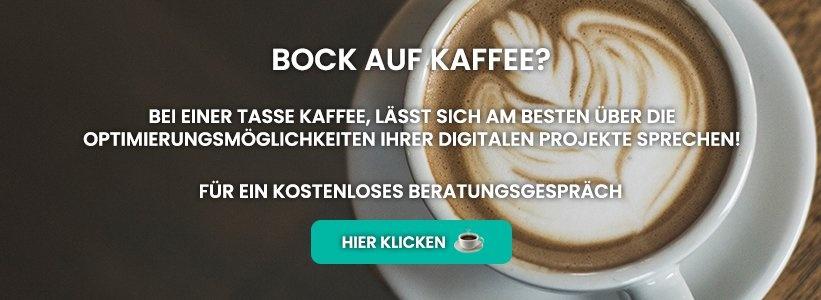 Kostenloses Beratungsgespräch Kaffee