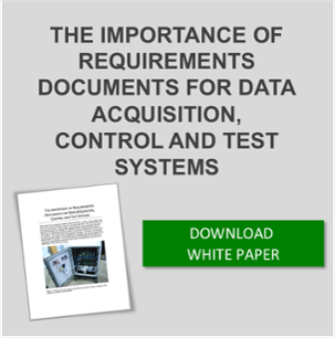Download white paper the importance of requirements documents for data acquisition, control and test systems