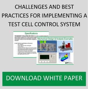 CHALLENGES AND BEST PRACTICES FOR IMPLEMENTING A TEST CELL CONTROL SYSTEM
