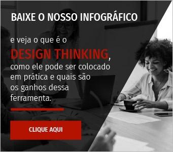 Baixe nosso infográfio: Design Thinking