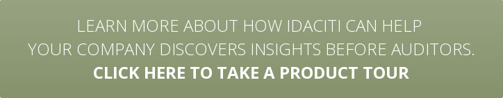 Learn more about how idaciti can help  your company discover insights before auditors. Click here to schedule a demo today.