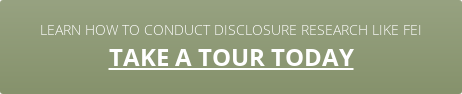 Learn how to conduct disclosure research like FEI take a tour today