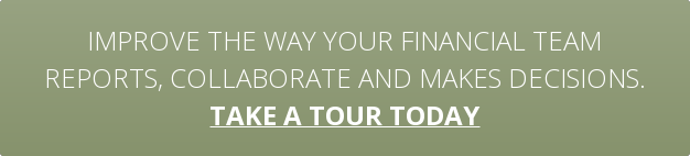 Improve the way your financial team reports, collaborate and makes decisions. take a tour today