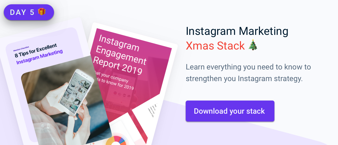 Instagram Marketing Xmas Stack