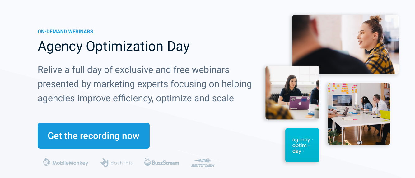 Agency Optimization Day