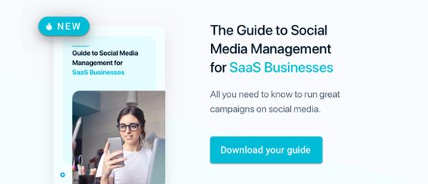 Загрузите полное руководство по управлению социальными сетями для предприятий SaaS