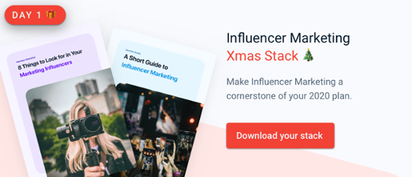 Influencer Marketing Xmas Stack