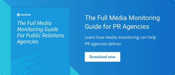 media monitoring pr agencies