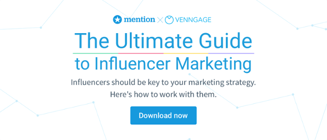 mention influencer marketing