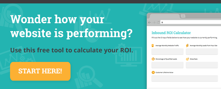 Website ROI Calculator