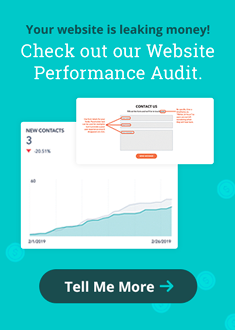 Your website is leaking money! Check out our Website Performance Audit.