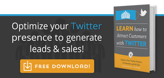 Optimize Twitter for sales