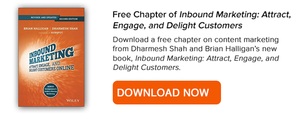 Free Chapter of Inbound Marketing