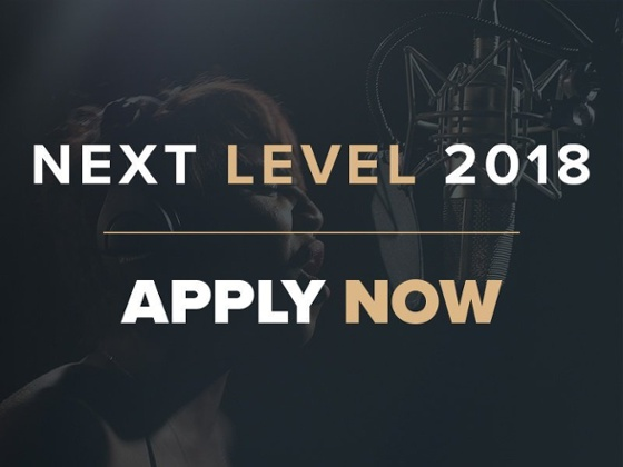 Next Level 2018. Apply Now!