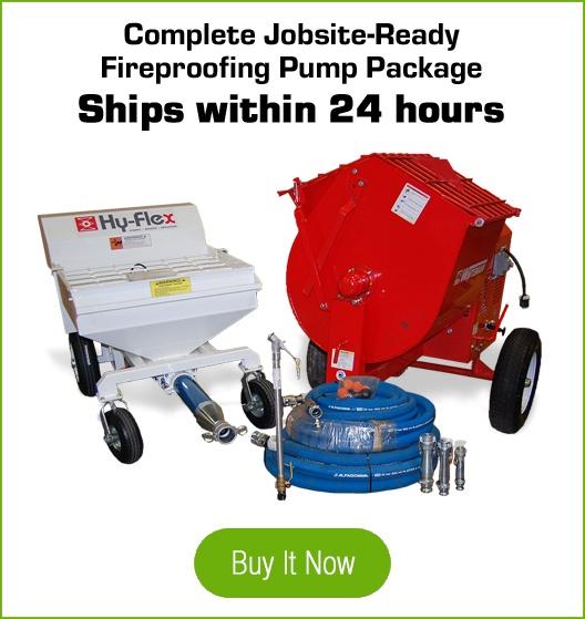 fireproofing pump package