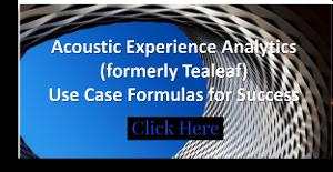 Acoustic Use Case Formulas for Success