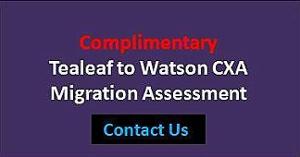 Watson CXA Migration Assessment