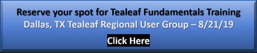Dallas, TX Tealeaf RUG Fundamentals Training