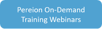 Pereion On-Demand Training Webinars