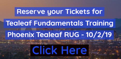 Phoenix, AZ Tealeaf Fundamentals