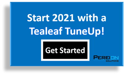 Start 2021 with a Tealeaf TuneUp!