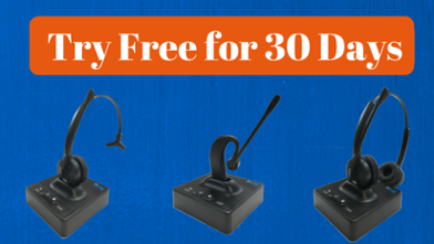 Try the new Discover Wireless Headset FREE for 30-days