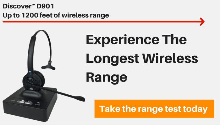 Discover D901 Long Wireless Range Challenge