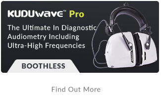 High frequency audiometer