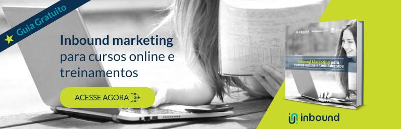 Inbound Marketing para cursos online e treinamentos