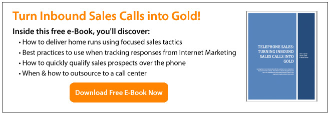 Turn Inbound Calls Into Gold