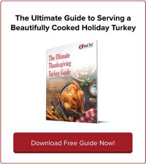 Craft your perfect Thanksgiving meal with the gThankYou! Ultimate Thanksgiving Turkey Cookbook - FREE! Download your copy now.