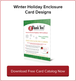 Download gThankYou! Winter Holiday Enclosure Card Catalog