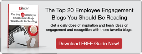 "Download our FREE eBook, ""The Top 20 Employee Engagement Blogs You Should Be Reading"" and jumpstart your workplace TODAY!"
