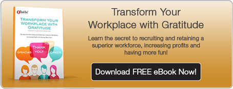 "Download our FREE eBook, ""Transform Your Workplace With Gratitude"" Today!"
