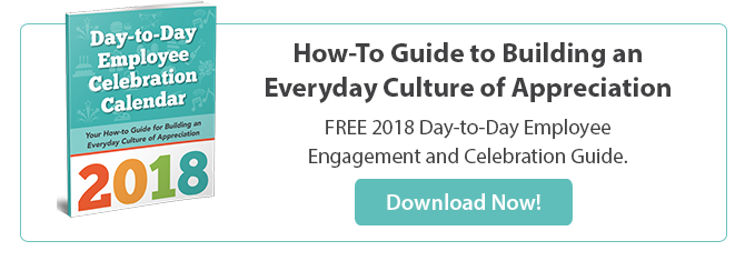 Download gThankYou's 2018 Day-to-Day Employee Appreciation Calendar