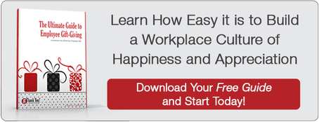 "Download FREE eBook, ""The Ultimate Guide to Employee Gift-Giving"""