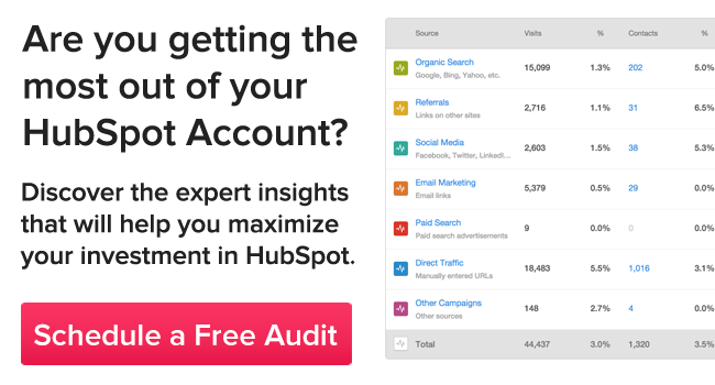 Are you getting the most out of your HubSpot account?
