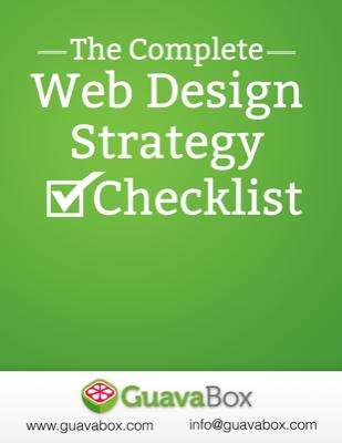 Web Design Strategy Checklist