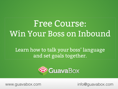 Winning the Boss on Inbound Marketing
