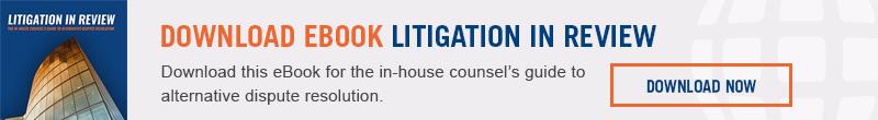 Download eBook - Litigation in Review CTA