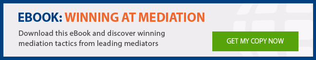 Winning at mediation