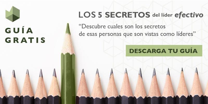 Descarga guía - Los 5 secretos del líder efectivo
