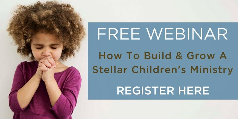 How to build and grow a Children's Ministry webinar