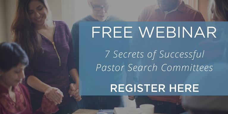 Pastor search committee webinar