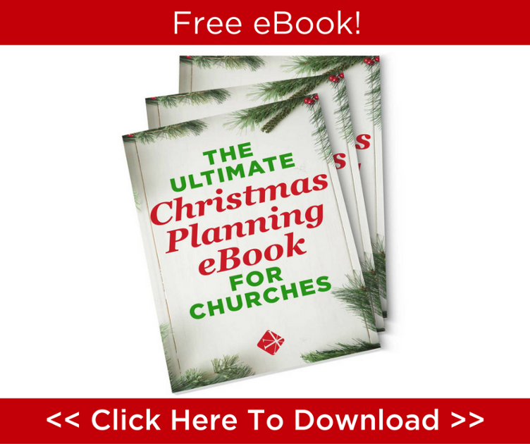 Christmas planning ebook for churches