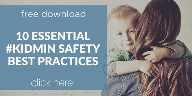 free download Children's Ministry KidMin Safety Best Practices