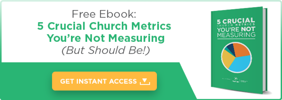 Free Ebook: 5 Crucial Church Metrics You're Not Measuring (But Should Be!)