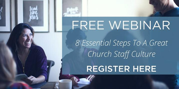 Church staff culture webinar