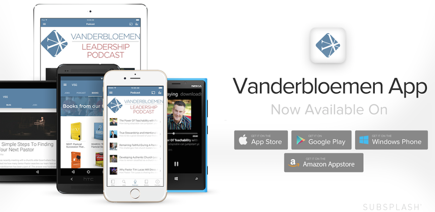 Vanderbloemen Search Group Church Staffing App