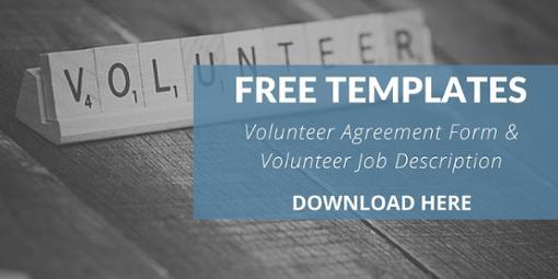 5 Elements To An Effective Volunteer Agreement & Job Description - Vanderbloemen Search Group templates